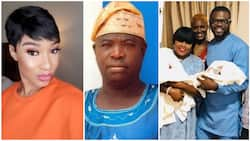 Tonto Dikeh reacts to prophecy about Funke Akindele never giving birth