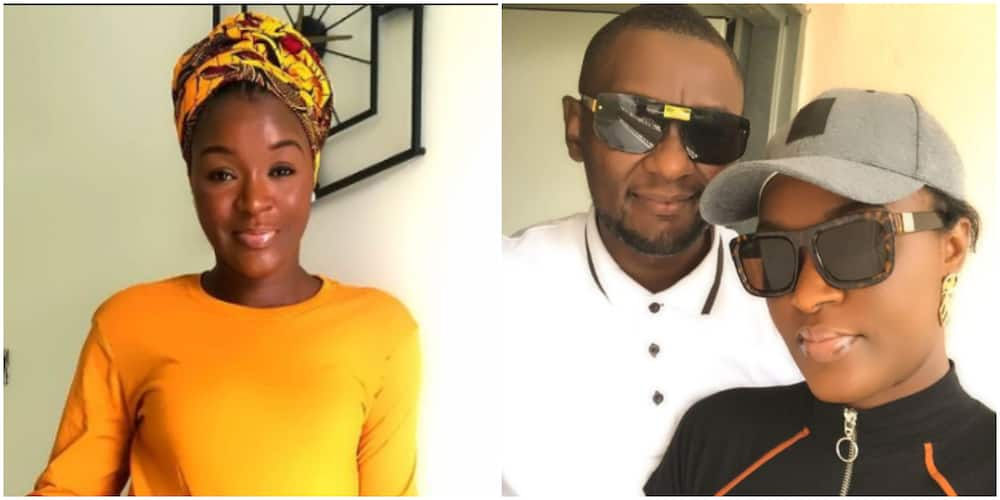 Actress Chacha Eke Faani Proves Her Marriage is intact, Celebrates Her Hubby as he Clocks new age