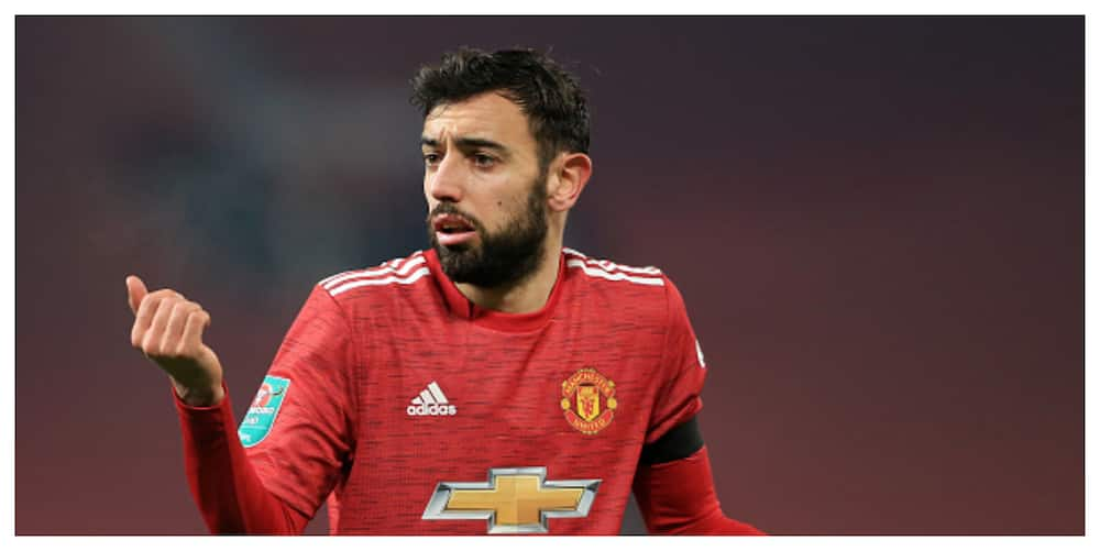 Man United star Fernandes slams Liverpool boss ahead of EPL tie, this is what he told him