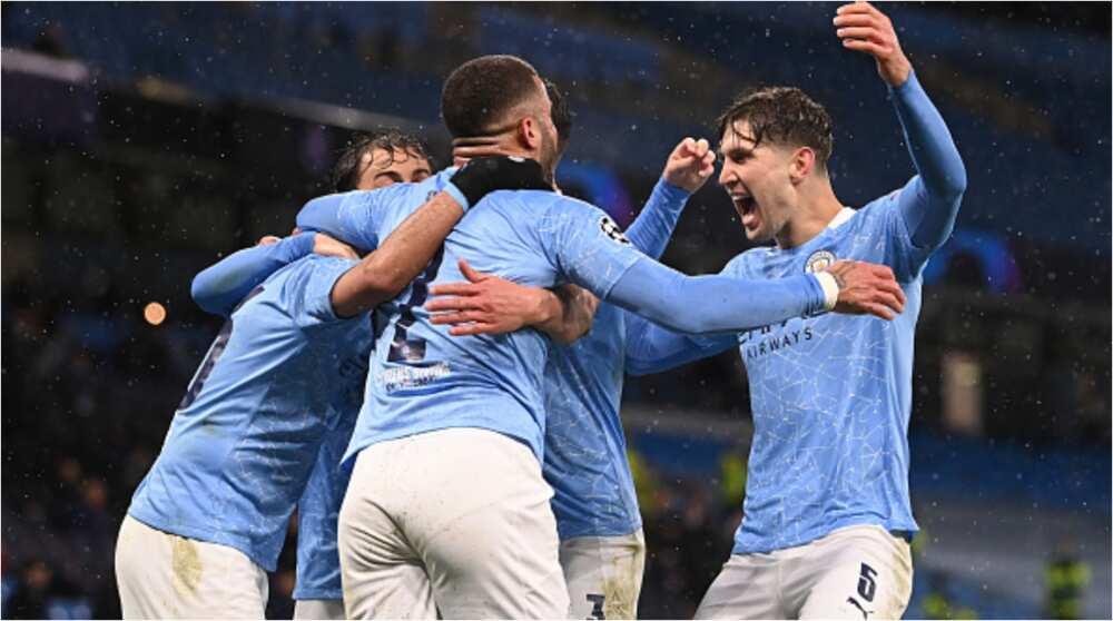 Etihad Stadium Erupts in Wild Jubilations As Manchester City Stars Celebrate Reaching Champions League Final