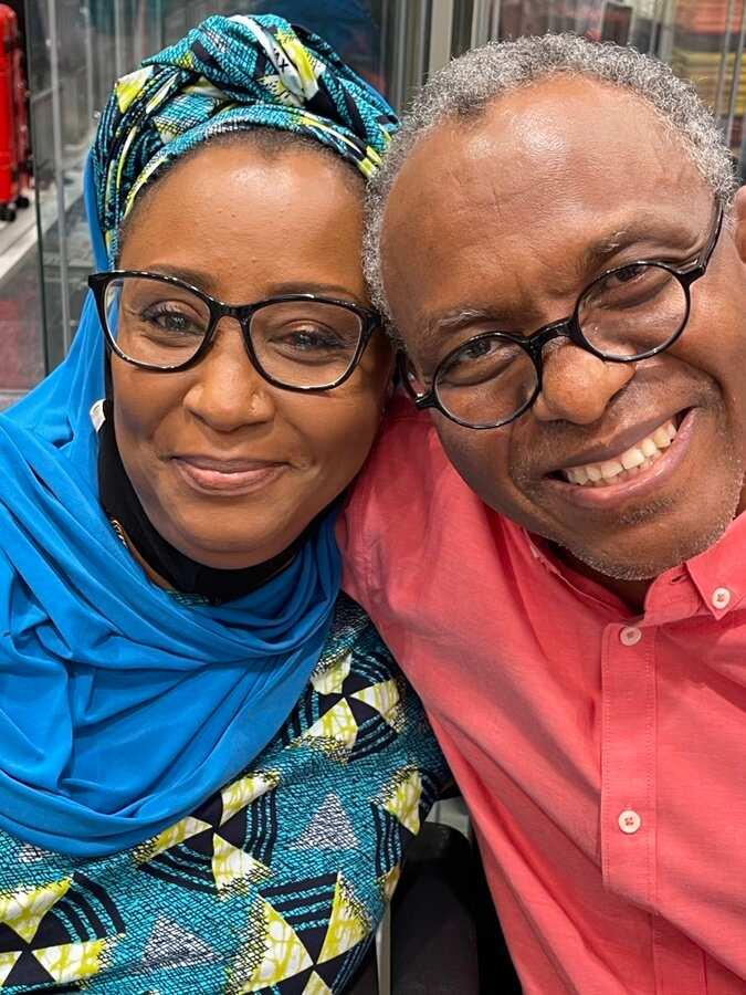 El-Rufai wife laments over husband's grey hair, attributes it to Kaduna stress