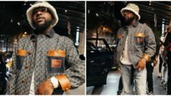 Nigerian singer Davido splashes over N1.6m on Gucci items