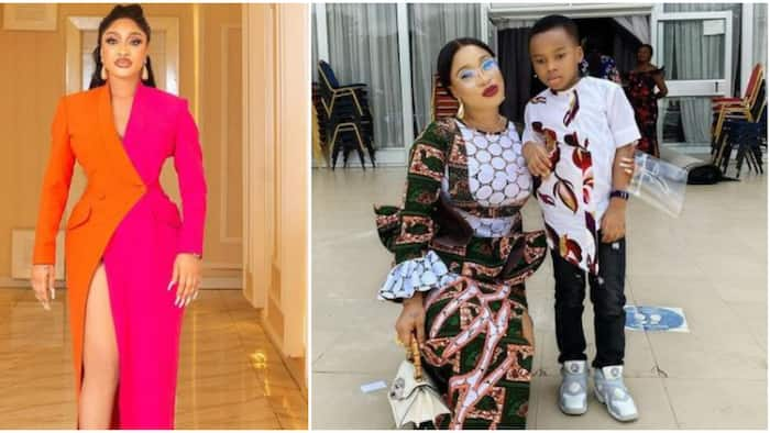 I miss my old self Poko: Tonto Dikeh says after praying for troll who rained insults on her and son