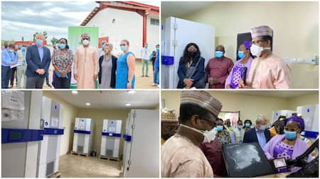 BREAKING: Nigeria receives 4.8m doses of COVID-19 vaccine from the US