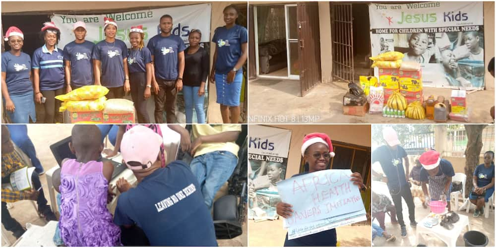 Nigerian woman trains over 60 orphans and children living with special needs