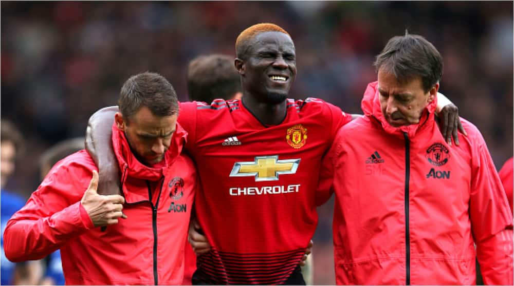 Eric Bailly: Manchester United defender ruled out of action for one month