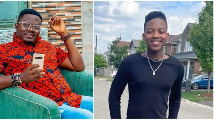 Actor Muyiwa Ademola shares cute photos of his son as he celebrates his birthday