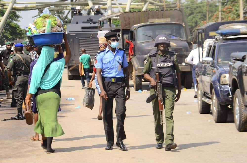 Abuja DPO, Abdullahi Bello says he escaped being stabbed by looters
