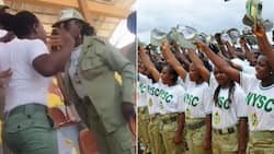 Hilarious! Batch A corps member in Ekiti fights with newer member for not getting needed respect (video)