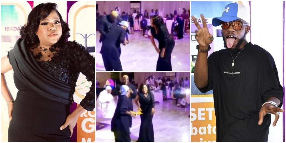 Toyin Abraham, Nkechi Blessing Sunday show off on dance floor.