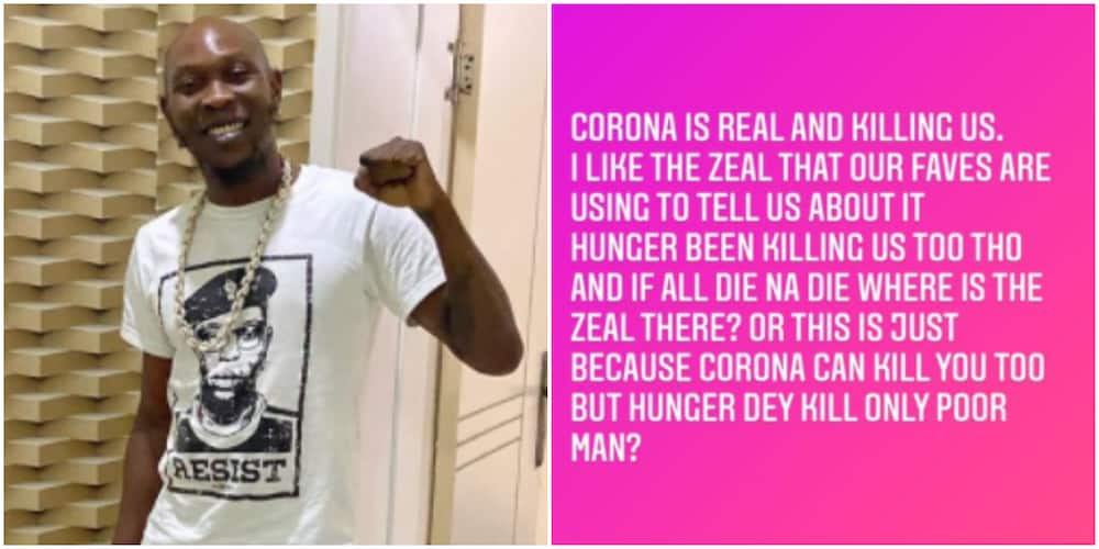 Seun Kuti reveals COVID-19 is not the only thing killing people