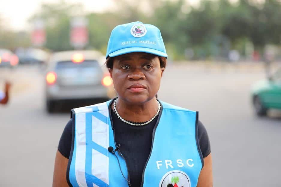 Monica Dongban-Mensem: Nigeria's judge who spends free time controlling traffic