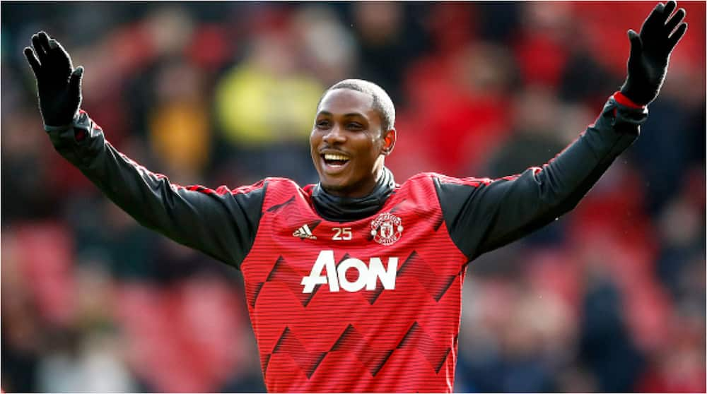 Odion Ighalo: Manchester United forward says he loves Burna Boy, but will pick Davido