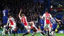 Brave Chelsea stage dramatic comeback to hold 9-man Ajax to 4-4 draw at Stamford Bridge