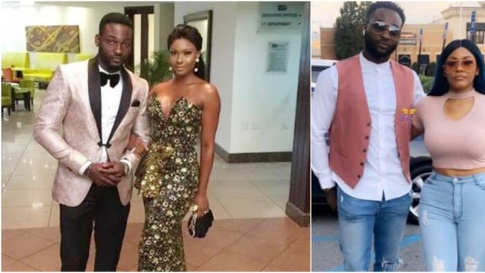 Nollywood actor Gbenro Ajibade shows off curvy new girlfriend (photos, video)