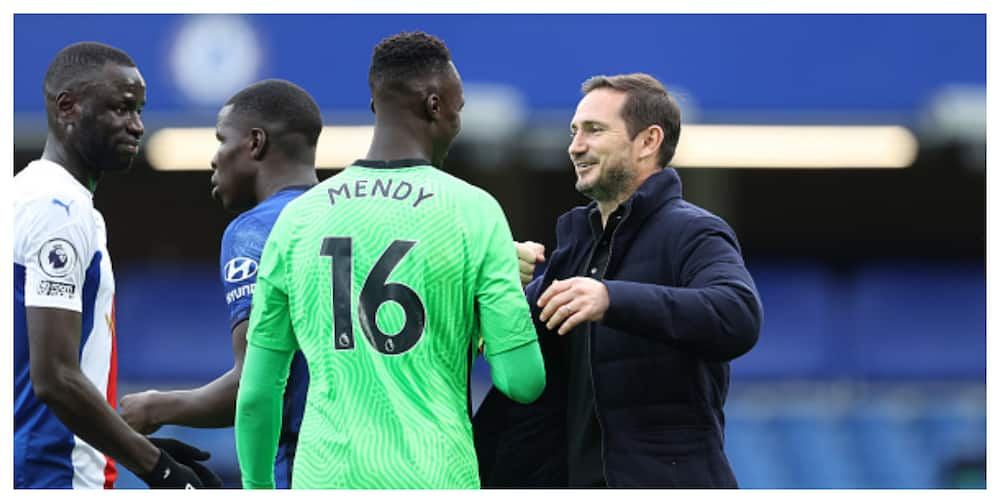 Edouard Mendy's saves has helped Lampard solve Chelsea's goalkeeping problems