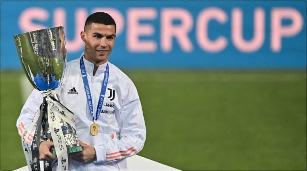Incredible Cristiano Ronaldo reacts after inspiring Juventus to emerge Italian Super Cup champions