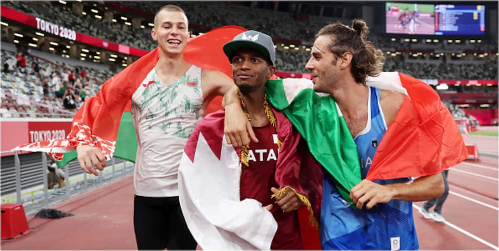 Tokyo 2020: 2 athletes share gold medals after refusing to compete further in long jump