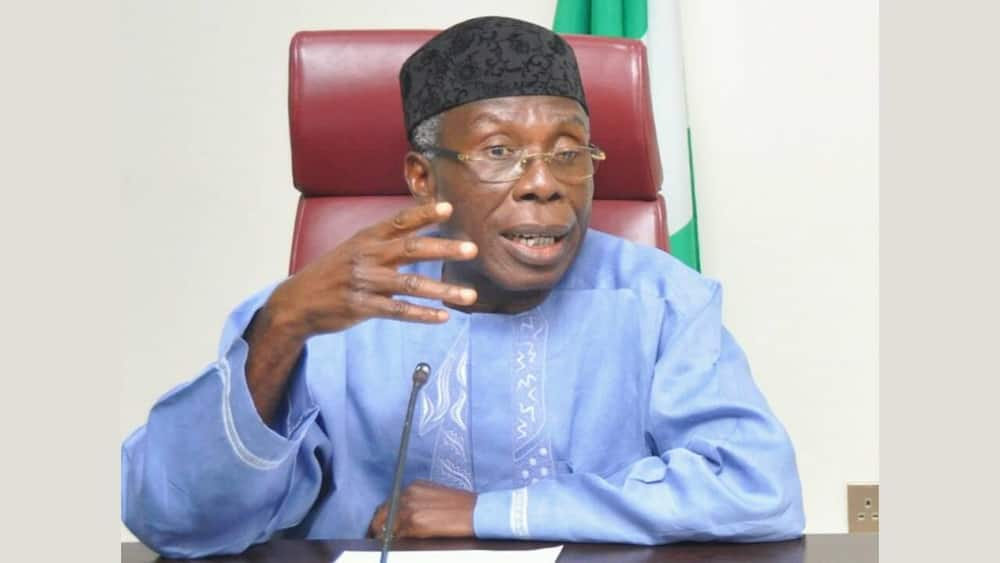 National chairman of ACF, Chief Audu Ogbeh