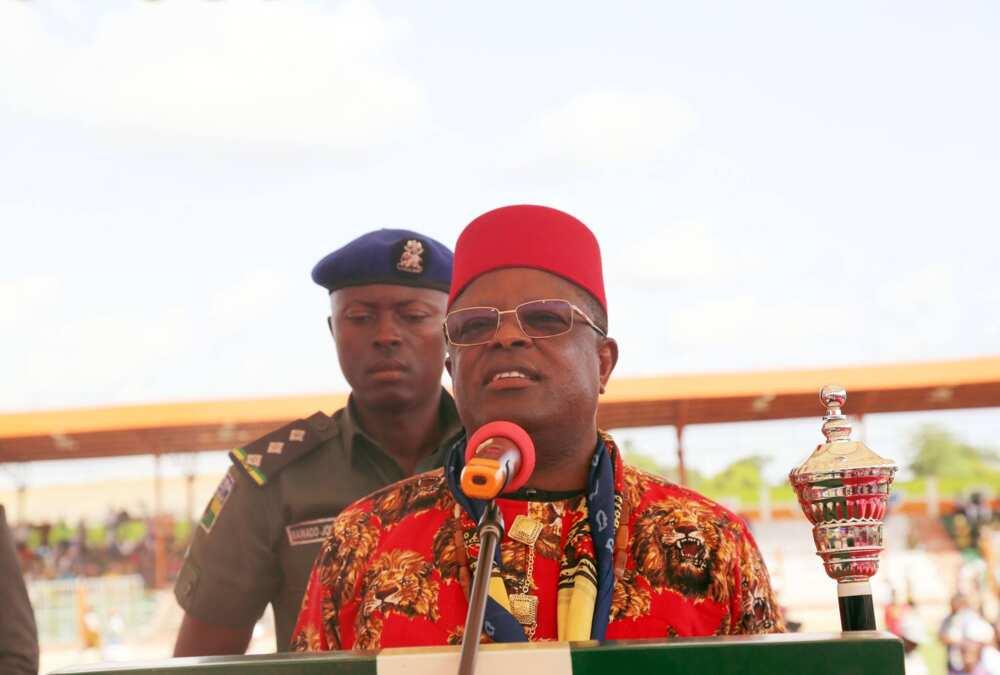 Ebonyi Governor Umahi Reveals How the Next APC National Chairman Will Emerge, Endorses Ali Modu Sheriff