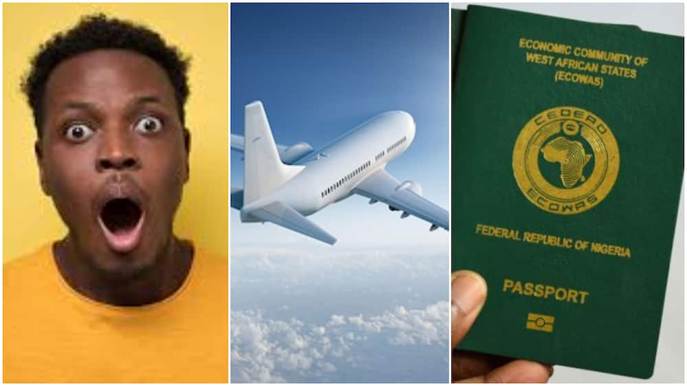 Nigerian Man who was Deported from UK after Passport with 5 Years Visa went Missing Smiles again