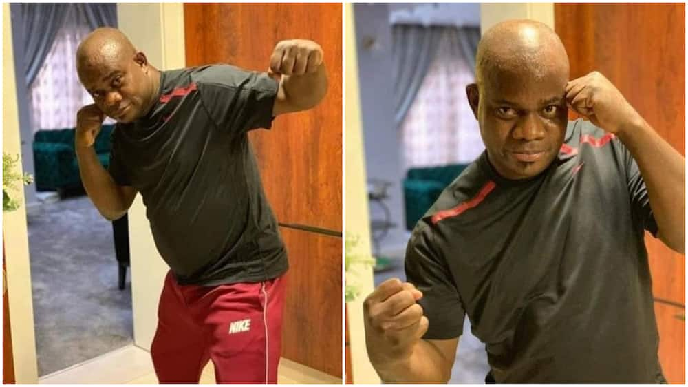 Yahaya Bello: Nigerian governors doing sports and physical exercise
