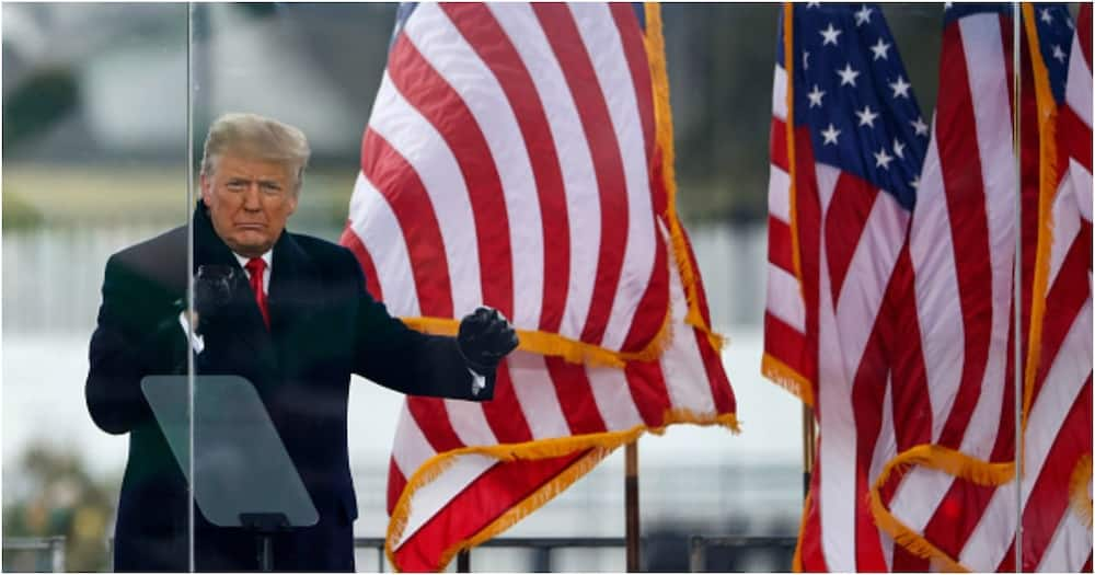 """Donald Trump's impeachment """"dead on arrival"""" as 45 Republican senators vote against it"""