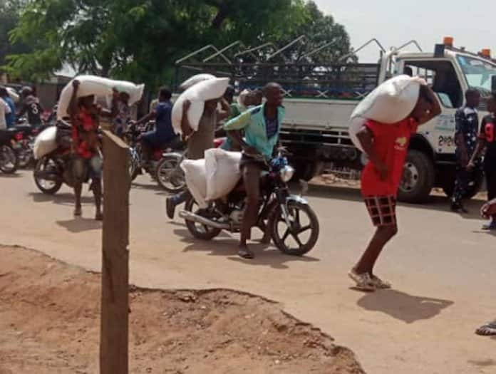 EndSARS: Hoodlums plunder NEMA, private companies' warehouses in Abuja