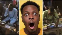 Agege becomes tourist attraction as 4 men engage in eating competition, stir massive reactions