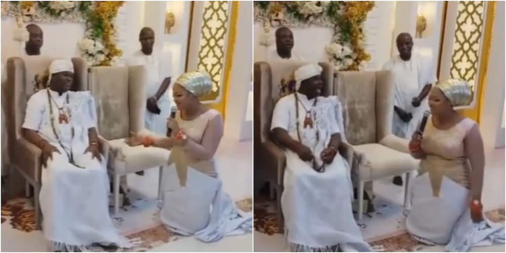 Ooni of Ife and his wife