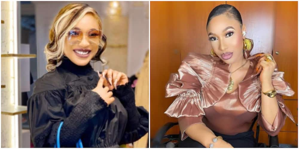Tonto Dikeh Dishes out Advice, Says 'Before you Argue with Someone be Sure that They are Mentally Mature'