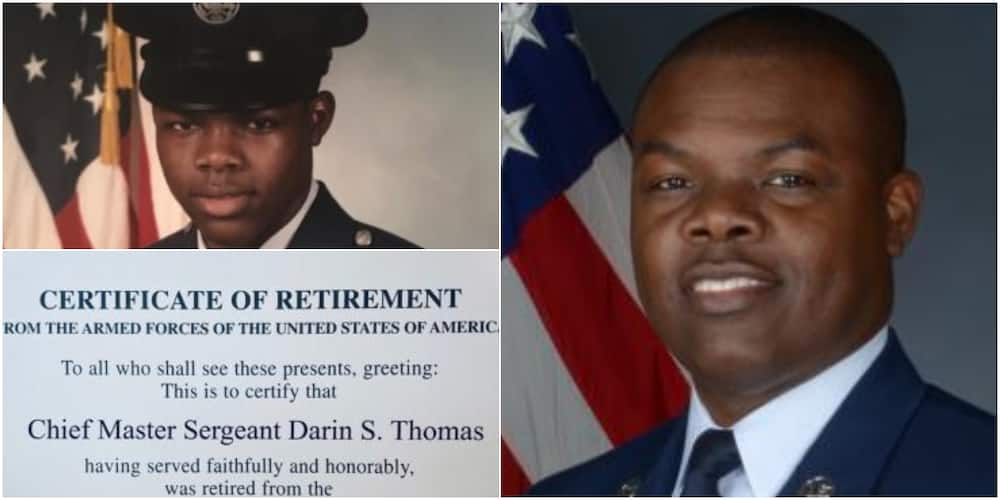 Black man hailed, celebrated after spending 24 years in US Air Force