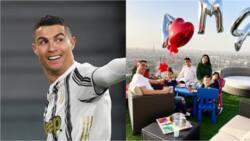 Cristiano Ronaldo flaunts beautiful girlfriend Georgina Rodriguez and his lovely kids