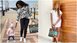 Actress Yvonne Nelson vows to sue anyone who writes negative reports about her daughter