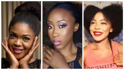 5 female Nigerian celebrities who are natural hair goals (photos)