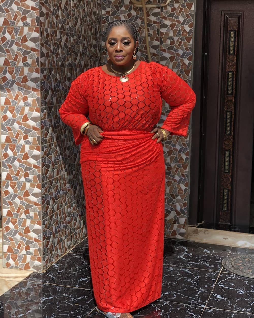 Trump must win this election - Nollywood actress Rita Edochie shows support for US president