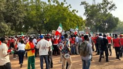 BREAKING: NLC takes street protests to National Assembly