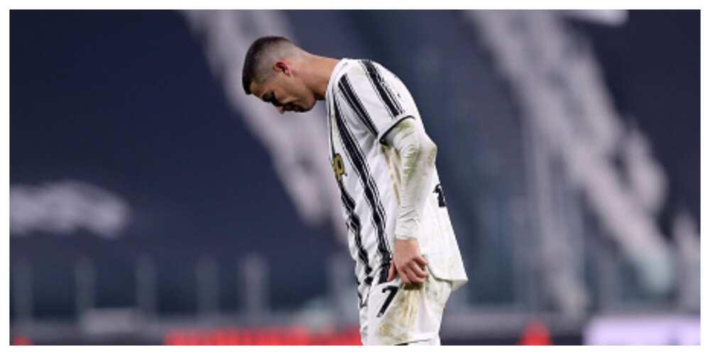 Cristiano Ronaldo says Juventus' result against Fiorentina unacceptable