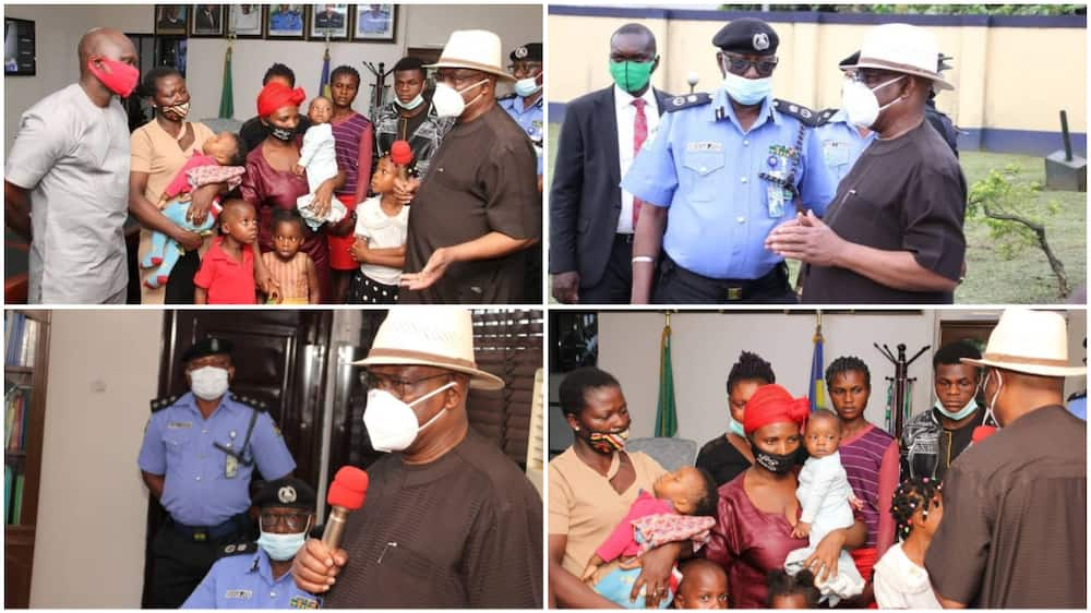 Wike donates N20m each to families soldiers, policemen killed by IPOB