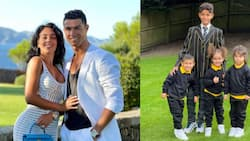 Cristiano Ronaldo's lover Georgina shares amazing picture of their children's first day in new school