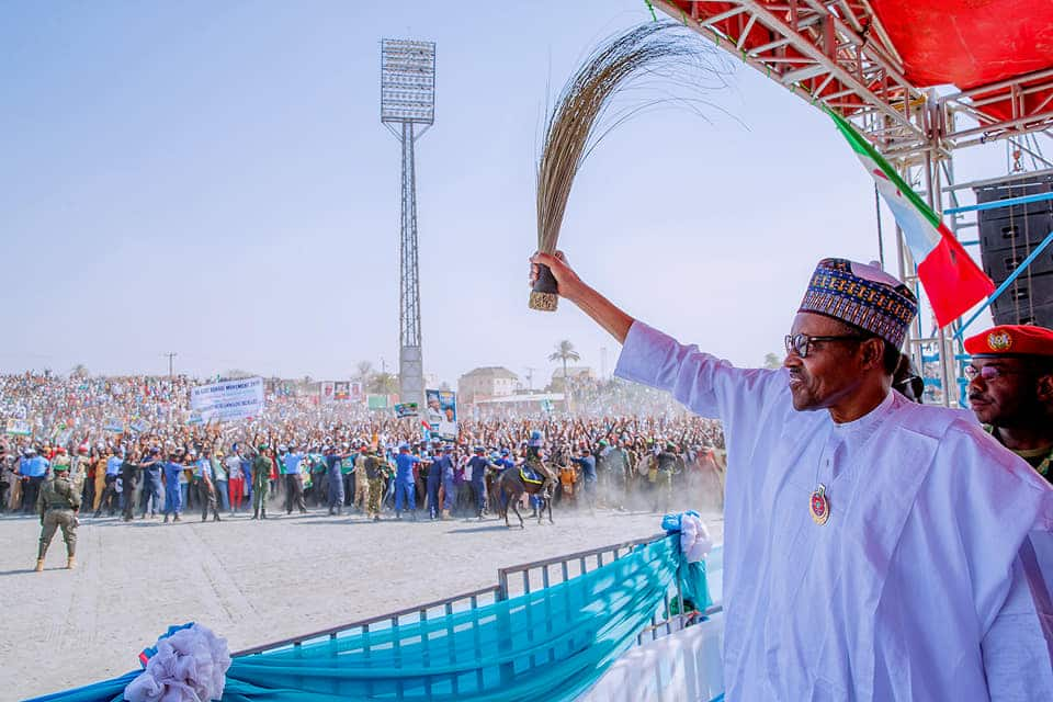 Hotuna: Yadda yakin zaben Buhari ya kasance a jihar Bauchi