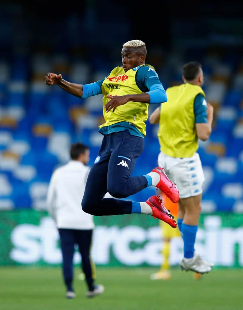 Napoli boss shower praises Africa's most expensive player Osimhen