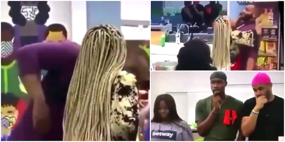Call me Professor Kidd: Kiddwaya Finally Reacts to Video Clip of Him with Erica in BBNaija Kitchen