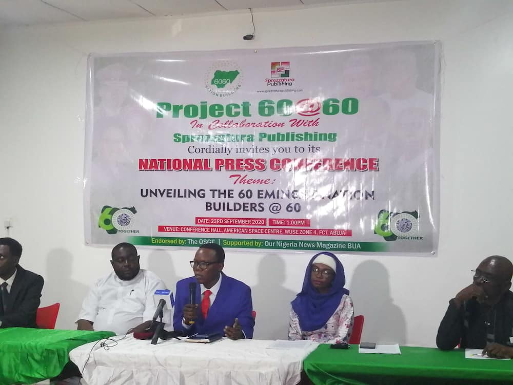 60 outstanding Nigerians to be honoured at Nigeria's 60th anniversary celebration