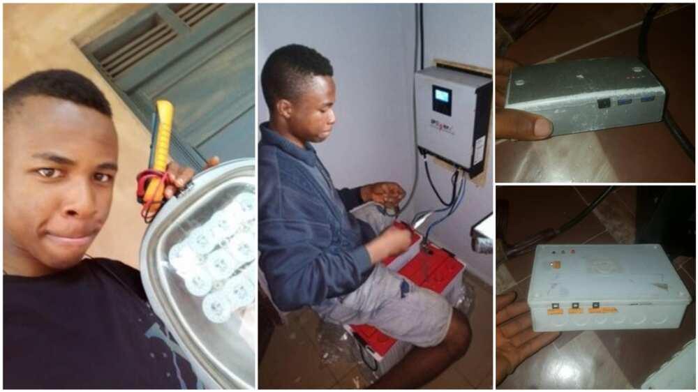 A collage showing the Ugwu Chiagoziem. Photo source: Twitter/Enugu Metropolitan Network