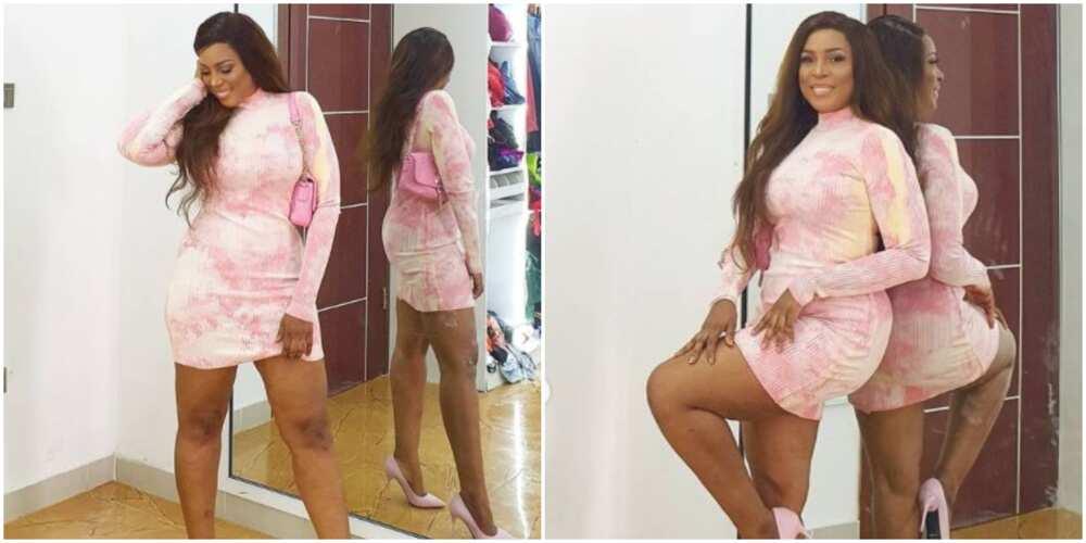 Linda Ikeji replies fan who body shamed her for having stretch marks
