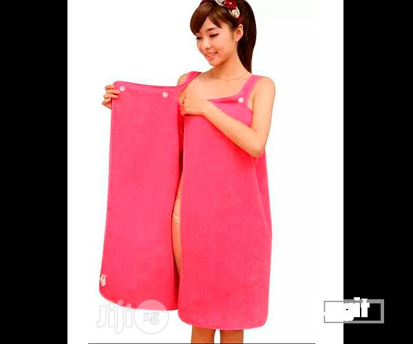 Wearable Women Bath Towel