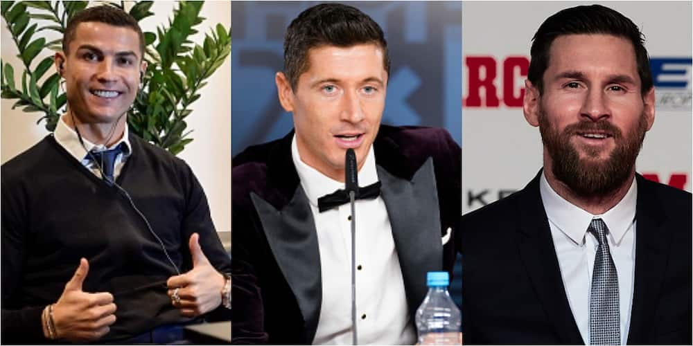 Cristiano Ronaldo voted for Lewandowski, Messi, Mbappe in FIFA's best men's player