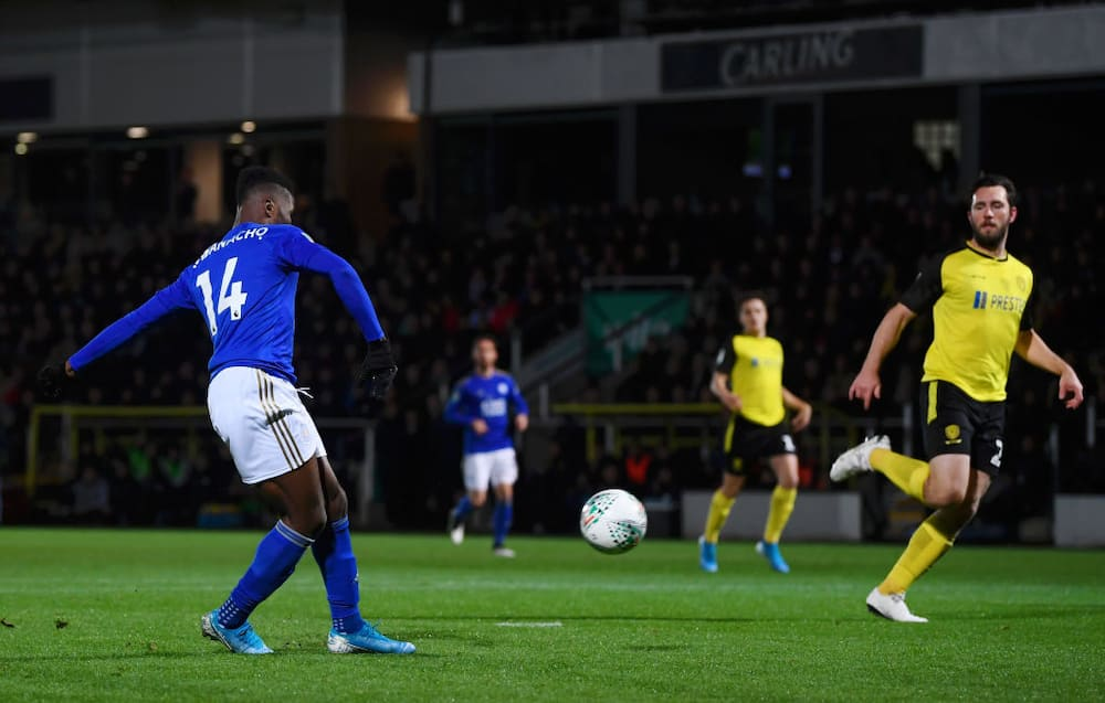 Kelechi Iheanacho to contend with Vardy, others for Leicester Goal of the Season