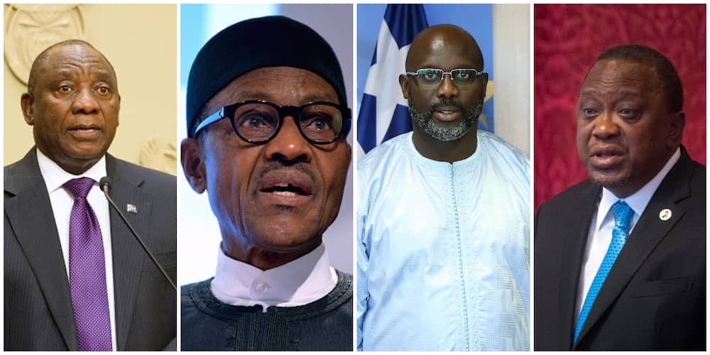Highest Paid African Presidents in 2021: Buhari's Position Tear Nigerians Apart